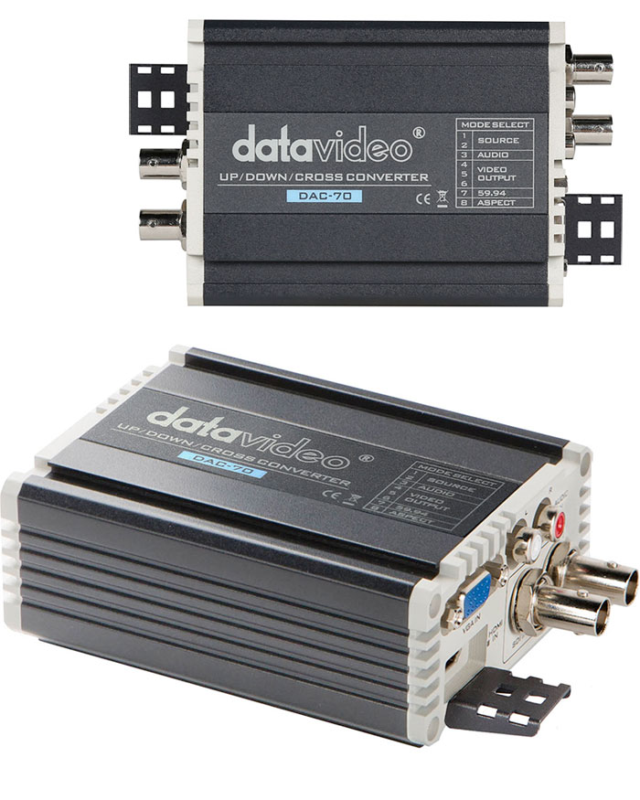 Image of the Datavideo DAC-70 SDI/ VGA/ HDMI up/down Cross-Converter DAC70