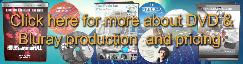 DVD and blu-ray authoring, duplication and replication UK