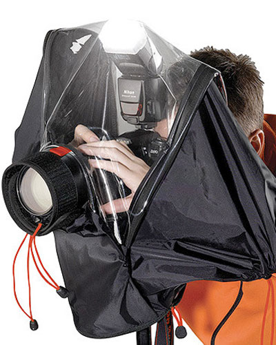 Image of the Kata E-705 DSLR raincover