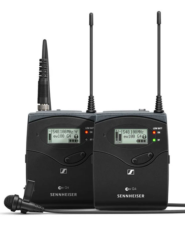 Sennheiser EW100 Radio Mic Kit (CH 38) GB G4