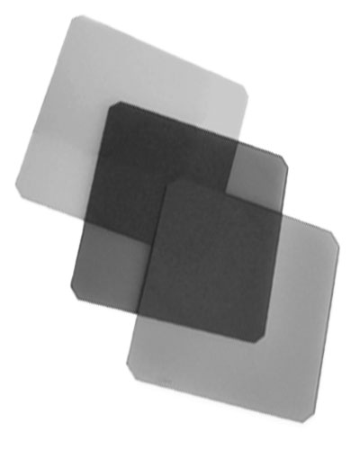 Image of the Neutral Density filter kit (ND 0.3, 0.6 + 0.9) 4x4 100mmx100mm