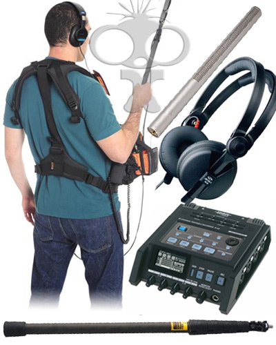 Location audio kit (indoors)