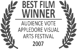 Winner of Appledore Visual Arts festival best film 2007