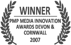 Winner of Media Innovations Award South West 2007