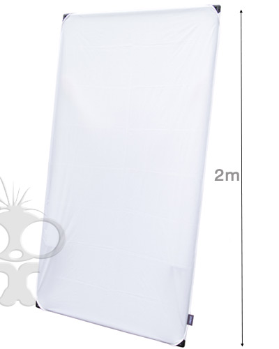 Image of the Calumet Light panel frame with diffuser and reflector - 2x1m