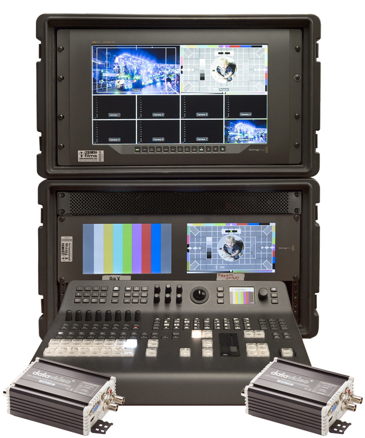 Image of the 4K & HD Live Event Blackmagic Vision Mixer Kit V1