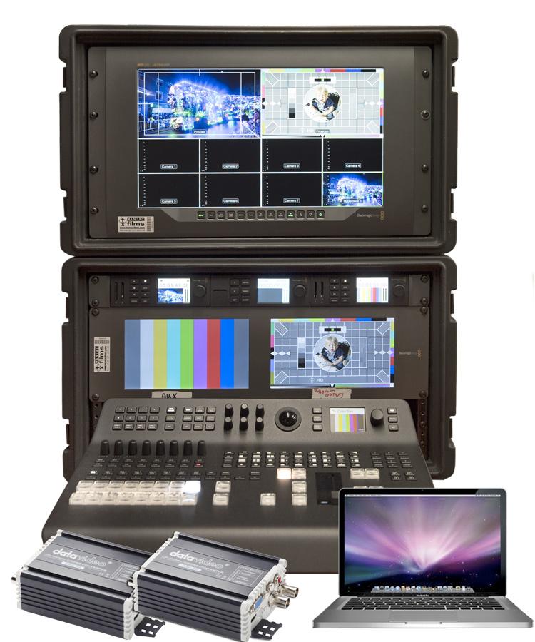 Image of the 4K & HD Live Event Blackmagic Vision Mixer Ultimate Kit
