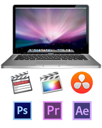 "Apple Macbook Pro 15"" i7 Retina Laptop with FCPX & Resolve"