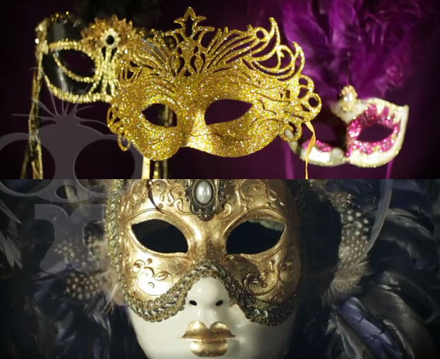 Sample of the masked ball video montage