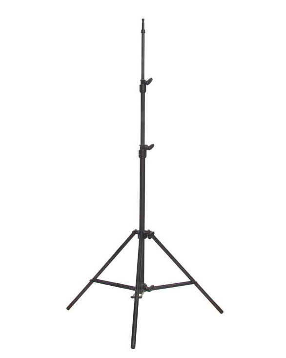 Matthews Lighting Stand - Medium Duty Maxi - Black/Aluminum Stan