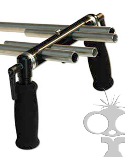 Image of the Ronford Baker moose bars 15mm & 19mm rig hand grips
