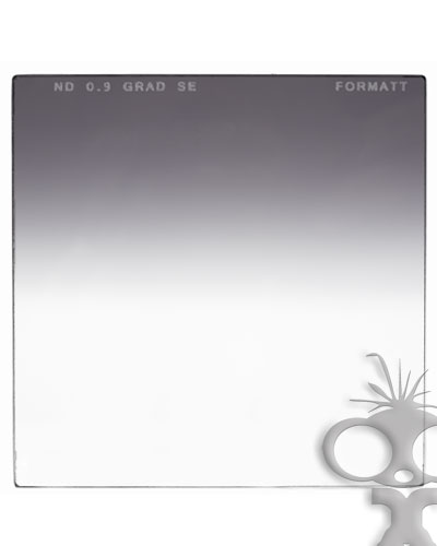 Formatt Neutral Density Grad Soft Edge ND0.9 4x4 glass filter