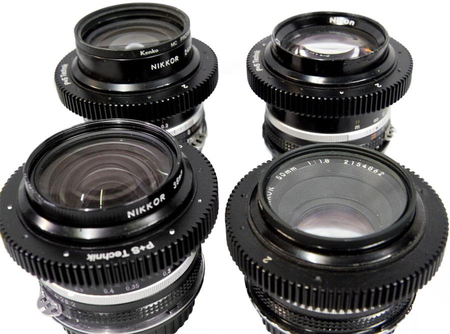 Nikon Cine primes