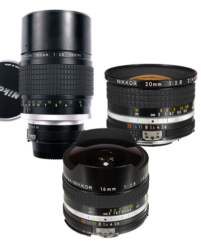 Canon EF fit lenses