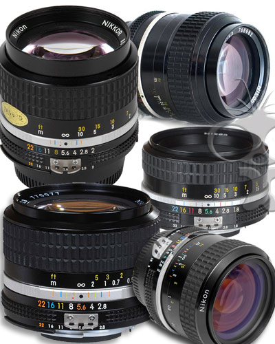 Image of the Nikon lens kit - 5 piece Canon EF mount