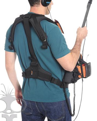 Petrol harness for audio bag