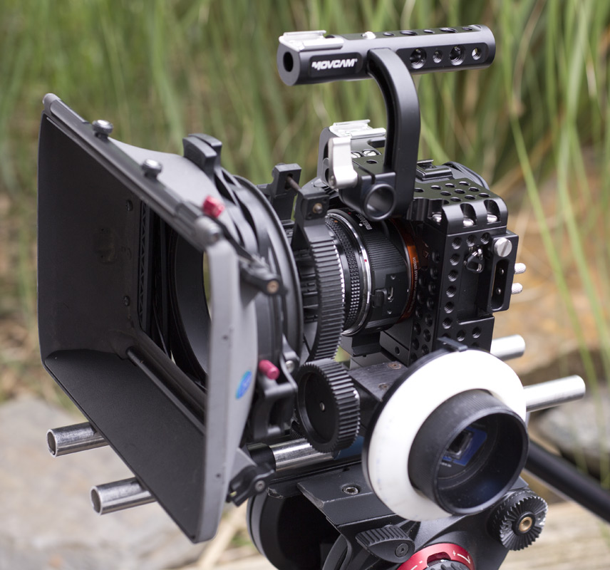 Sony a7s camera rig hire