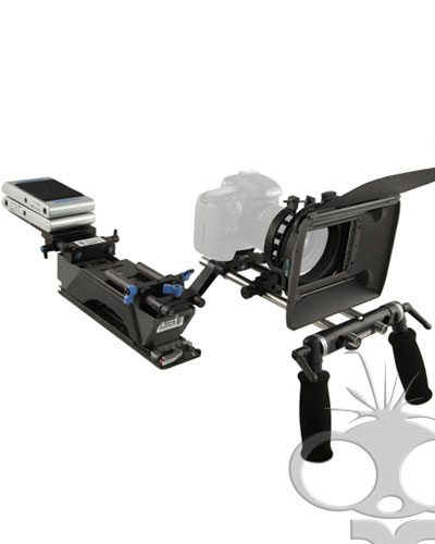 Image of the The Shoot n Go deluxe DSLR rig