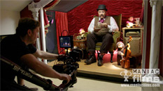 Filming music video for Mr Pickle from Forda - winner of IOV best music video award