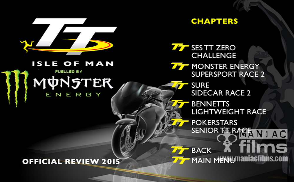 Isle of Man TT DVD and Blu-ray German Audio edition
