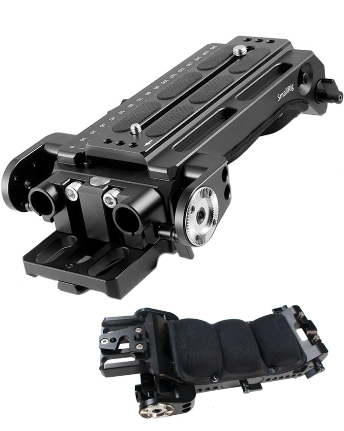 SmallRig Sony VCT-14 Shoulder Plate with Manfrotto sliding plate