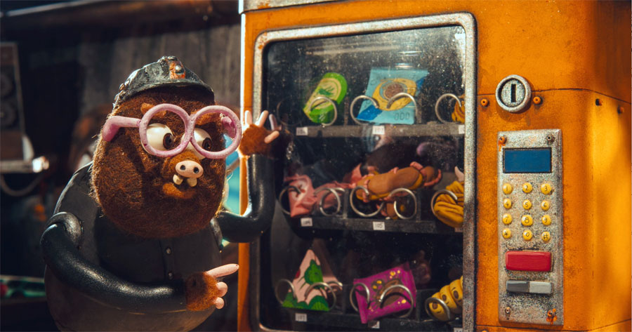 Mole munchies down the mine in new animated feature film STRIKE from Homesick Angel