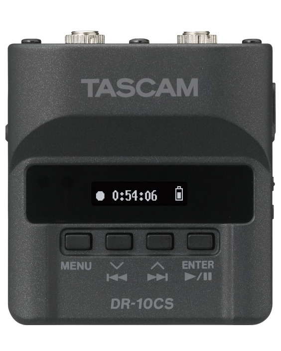 Image of the Tascam DR-10CS linear recorder for wireless mics