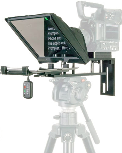 Image of the Datavideo TP-300 Teleprompter Autocue kit