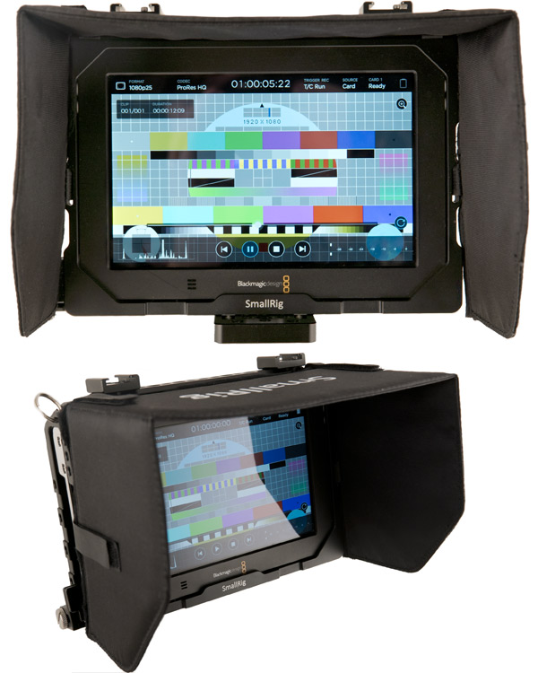 Image of the Blackmagic 7inch Video Assist 4K monitor/recorder kit
