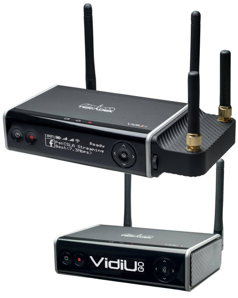 Teradek VidiU Go Live HD Streaming SDI & HDMI