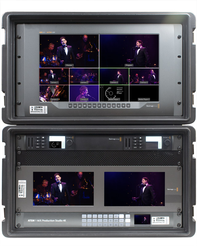 4K & HD Live event vision mixer video switch kit version 2