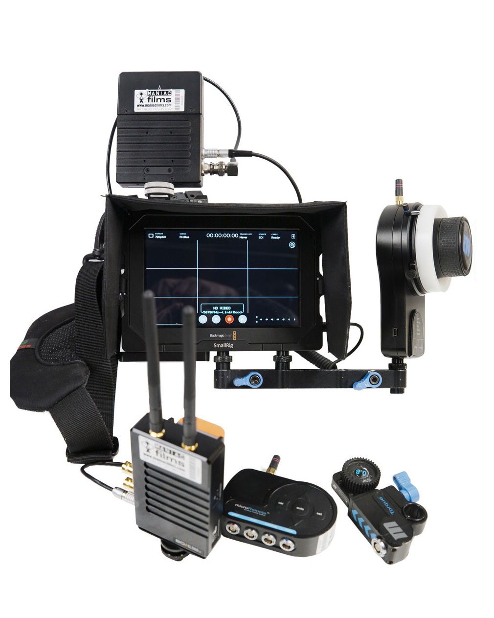 Image of the Wireless Follow Focus / Focus Puller Kit SDI Version2