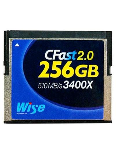Wise Advanced 256GB 3400x CFast 2.0 card