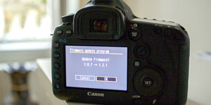 New firmware for the 5d mkIII
