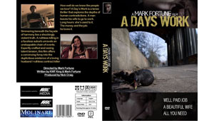 The DVD cover for A Days Work