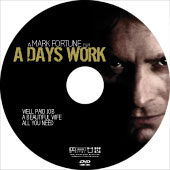 The disk print for A Days Work by Mark Fortune
