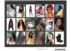 Corinne Evans website