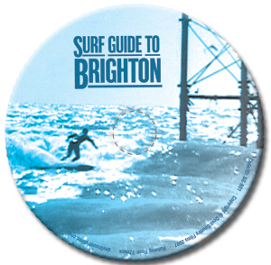 Surf Guide to Brighton DVD disc design
