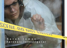 Filming our forensic crimescene