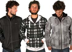 Genesis winter clothing for men 2010
