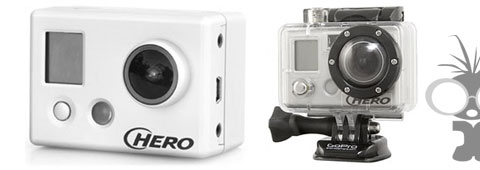 Go Pro HD hero wearable camera