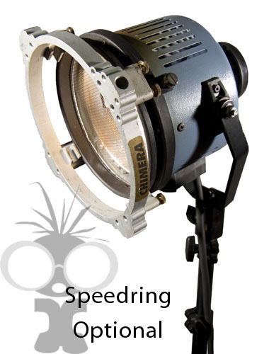Ianiro light with optional speedring for softbox attachment