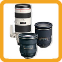 SLR lens hire from Maniac Films