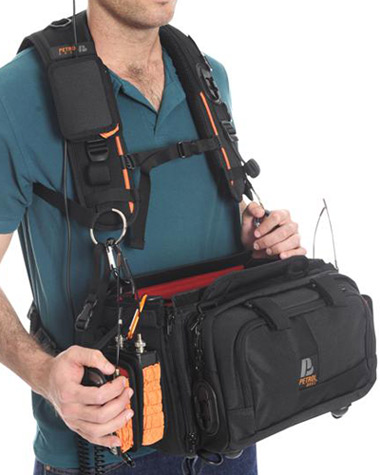 Petrol audio bag harness