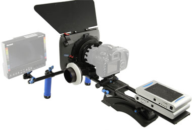 redrock field cinema deluxe rig from maniac films