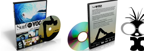 Surf into Yoga DVD