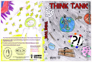 Think Tank DVD cover designed with help from local school kids
