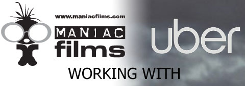 Uber-London, working with maniac Films