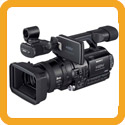 Video camera rental from Maniac Films