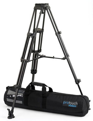 vinten pro 5 aluminium tripod legs with 75mm bowl head for dolly or crane